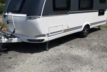 Caravan Hobby Miss Rose  in Waiblingen huren van particulier