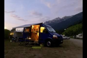 Buscamper Renault Schnupsi  in Murnau am Staffelsee huren van particulier