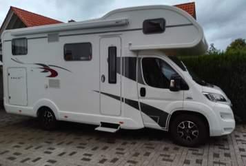 Alkoof EURA MOBIL EURA Mobil in Porta Westfalica huren van particulier