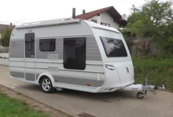 Caravan Tabbert Bellini in Jagstzell huren van particulier