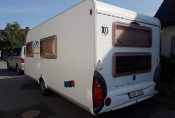 Caravan Knaus Moving Rubby in Wickede huren van particulier