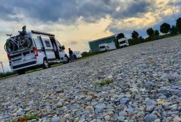 Buscamper Hymercar  wombia in Mutterstadt huren van particulier