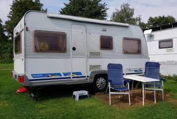 Caravan Dethleffs Mini in Remscheid huren van particulier
