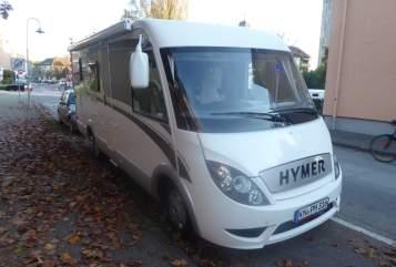 Integraal Hymer Hymer Exsis in Konstanz huren van particulier