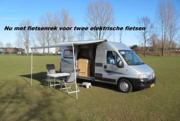 Buscamper pössl    Willem in Kerkdriel huren van particulier