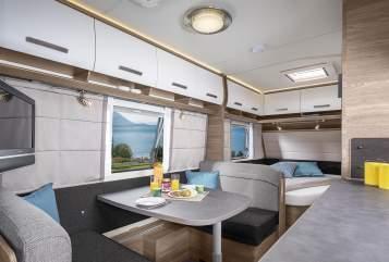 Caravan Knaus Knaus Sport 540 in Ettaler Forst huren van particulier