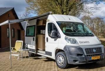 Buscamper Fiat De Klaploper in Utrecht huren van particulier