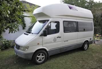 Kampeerbus Mercedes Captain Cook in Waidhofen an der Ybbs huren van particulier
