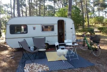 Caravan Tabbert Wilma Woodstock in Schriesheim huren van particulier
