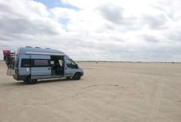 Buscamper Ford Westfalia  Big Nugget  in Dortmund huren van particulier
