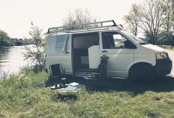 Kampeerbus Volkswagen  Frenky camper in Utrecht huren van particulier