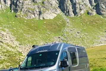 Buscamper Pössel PÖSSL 2WINPlus in Sindelfingen huren van particulier