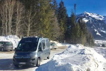 Buscamper Pössel Kastenwagen-Juv in Sindelfingen huren van particulier