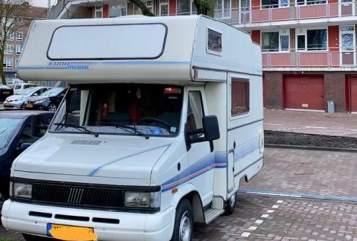 Alkoof Fiat Freddie de Fiat in Amsterdam huren van particulier