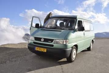 Kampeerbus Volkswagen CaliforniaCoach in Amsterdam huren van particulier