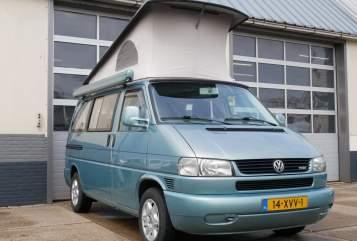 Kampeerbus VW VW calli T4 in Opperdoes huren van particulier