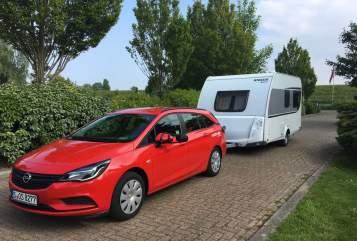 """Caravan Knaus """"Feder"""" in Ludwigsburg huren van particulier"""
