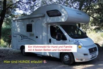 Alkoof Dethleffs WOMILI in Kornwestheim huren van particulier
