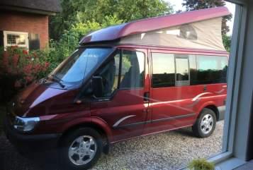 Kampeerbus Ford Transit Westfalia Nuggie  in Maurik huren van particulier