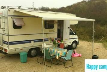 Alkoof Ford Granduca Happy Camper in Haarlem huren van particulier