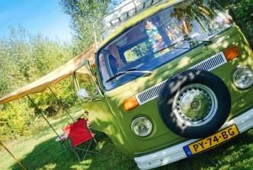 Kampeerbus Volkswagen De vakantiebus in Erp huren van particulier