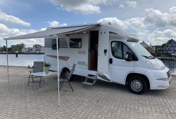 Halfintegraal Fiat Luxe Camper in Huizen huren van particulier