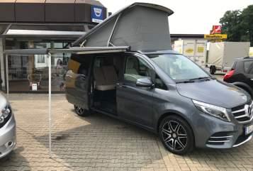 Kampeerbus Mercedes  Maro Polo in Meppen huren van particulier