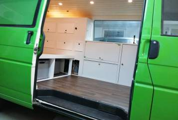 Buscamper Volkswagen Kale in München huren van particulier