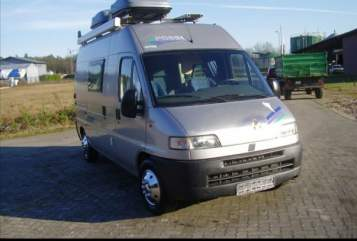 Buscamper Fiat, Pössl Fury in Grömitz huren van particulier