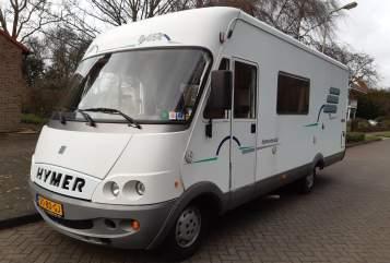 Integraal Fiat Hymer B654 (A) in Ridderkerk huren van particulier