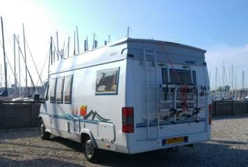 Integraal Fiat Heerlijke Hobby in Kaatsheuvel huren van particulier