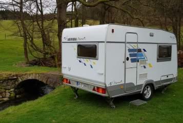 Caravan Hymer Eriba Little Hymie in Marienheide huren van particulier
