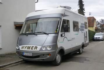 Integraal Hymer  Hymer B 524 in Nehren huren van particulier