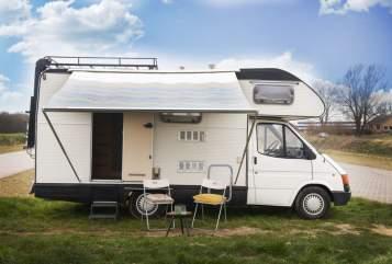 Alkoof Ford Koel camper in Alkmaar huren van particulier