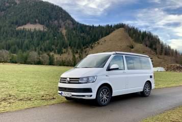 Kampeerbus VW Fridolin in München huren van particulier