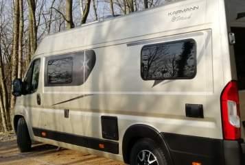 Buscamper KARMANN Mobil Champus in Darmstadt huren van particulier