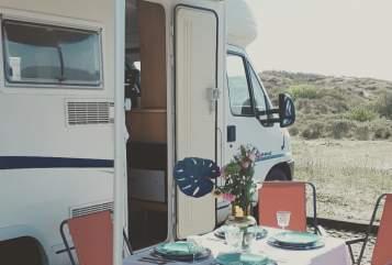 Halfintegraal Fiat Happy Camper 2 in Haarlem huren van particulier