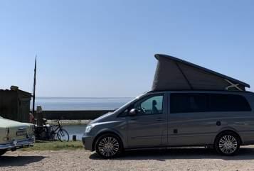 Kampeerbus Mercedes Benz Viano MB Marco Polo in Beetsterzwaag huren van particulier