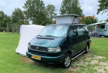 Buscamper VW Luxe VW T4 TDI in Utrecht huren van particulier