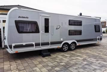 Caravan Dethleffs Big Famy in Bielefeld huren van particulier