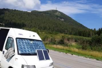 Buscamper Fiat Off-grid Ducato in Babberich huren van particulier