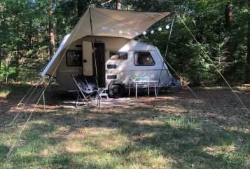 Caravan Kip  Kip vintage in Amersfoort huren van particulier