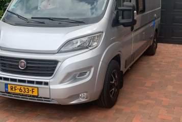 Buscamper Fiat Us dream in Kootstertille huren van particulier