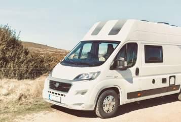 Buscamper Rapido Dreamer (Fiat Ducato) Camper 5 in Daun huren van particulier