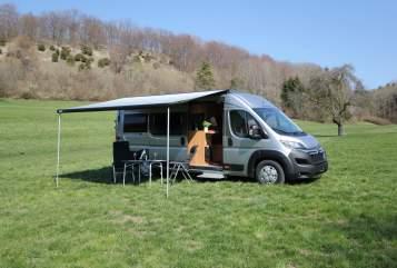Buscamper Pössl Winnie und Rolf in Bad Boll huren van particulier
