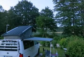 Kampeerbus Volkswagen Calli in Machern huren van particulier