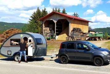 Caravan T@B Knutschkugel in Maintal huren van particulier
