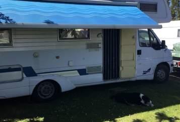 Alkoof Fiat dukato 2.5tdi Fendt camper in Oegstgeest huren van particulier