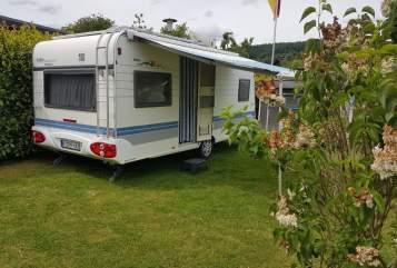 Caravan Hobby  Happinger's  in Wahlsburg huren van particulier