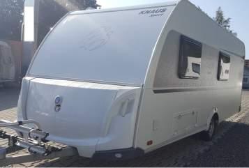 Caravan Knaus Knaus 500 FDK in Chemnitz huren van particulier
